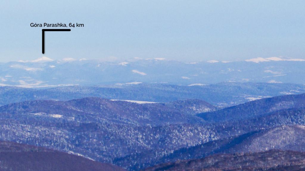 Góra Parashka z Wetlińskiej
