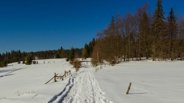 Piękna pogoda i sporo śniegu