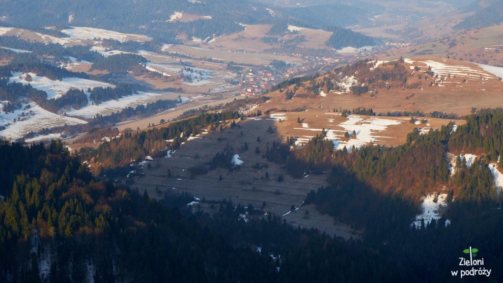 Rzut oka w stronę słowackich zabudowań