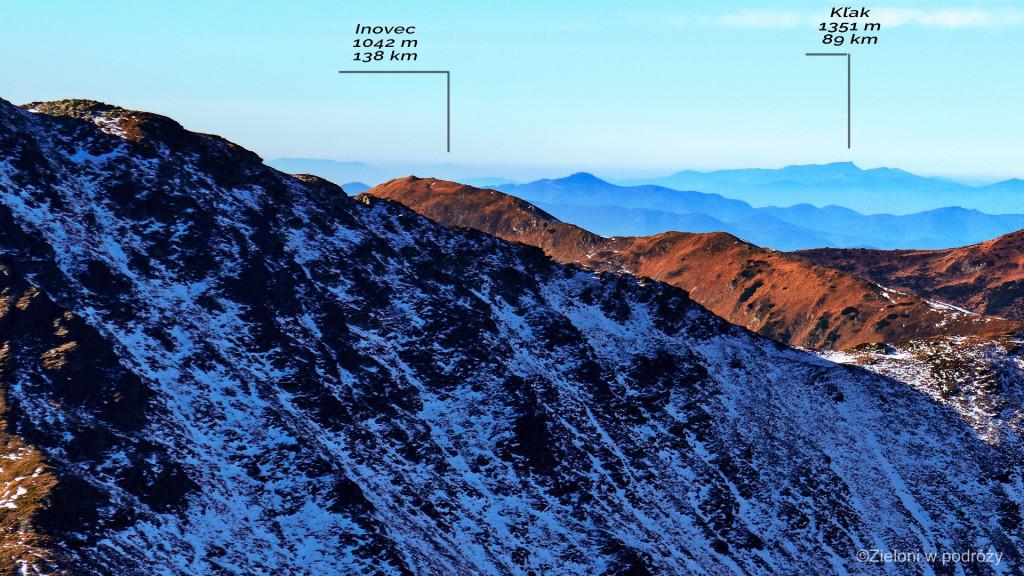 Zbliżenie na Inovec