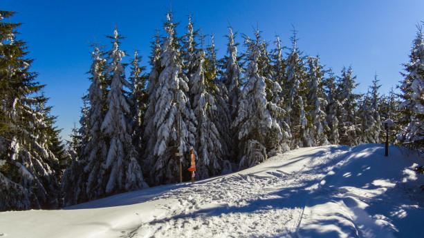 Zima na szlakach