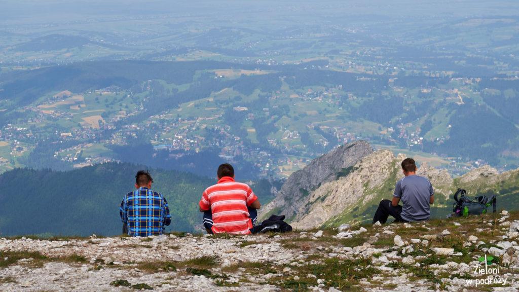 Kopa Kondracka i odpoczynek na szczycie