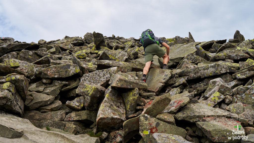 Po kamieniach na szczyt Babiej Góy. Po raz drugi.