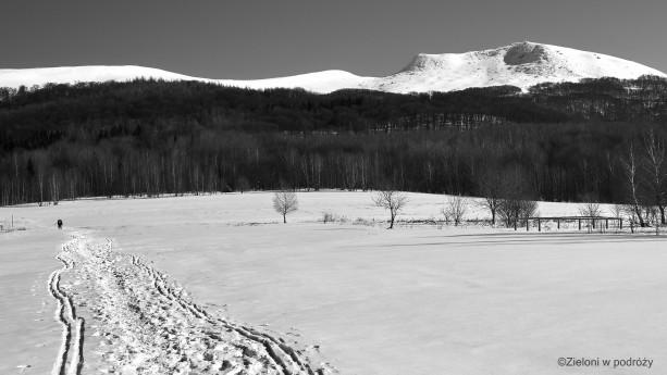 Na Tarnicę zimą. Sporo śniegu, lekki mróz i my – spragnieni wrażeń.