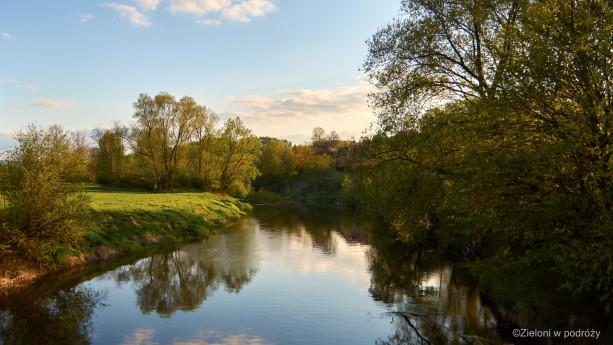Cały pagórkowaty region urozmaicają strumienie i rzeki, z Wisłokiem na czele
