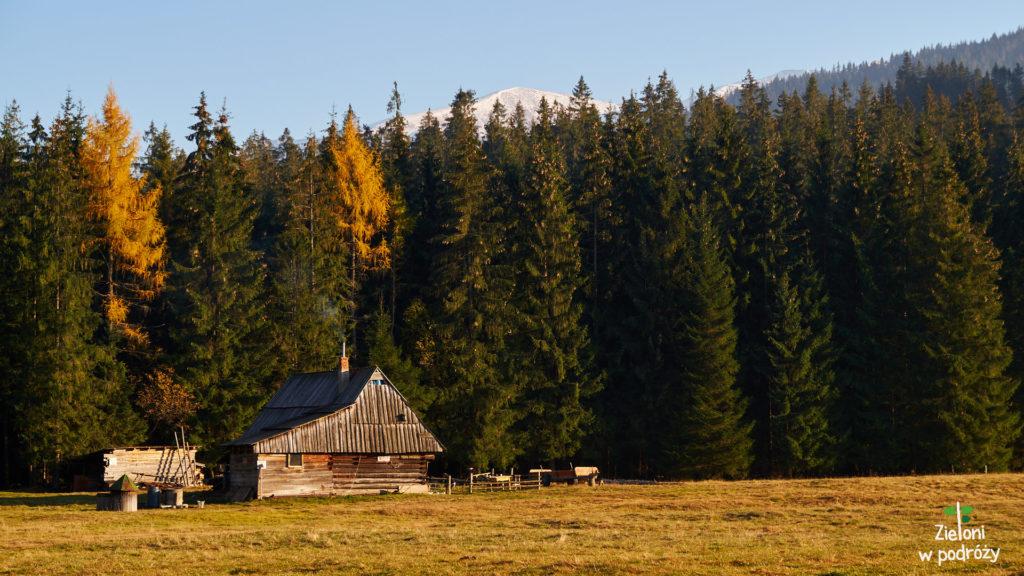 Z Tatrami Zachodnimi żegnamy się jak zwykle pieknymi widokami.