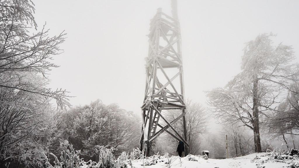 Baranie i wieża widokowa. Klimat jest wręcz niesamowity