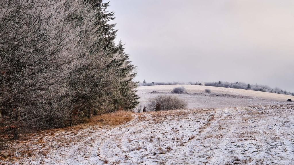 Coraz więcej śladów zimy.