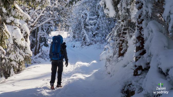 Gorce zimą to czysta przyjemność