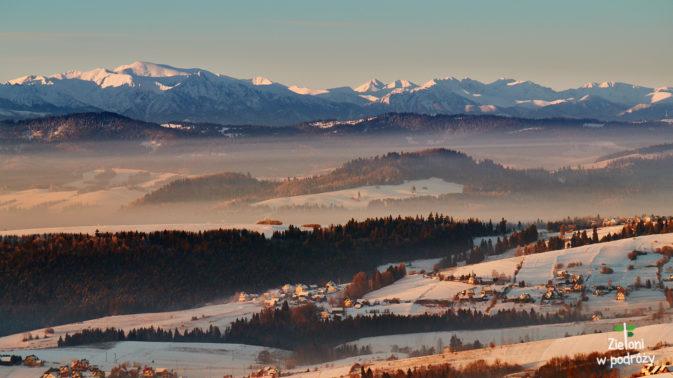 Poranek w Gorcach