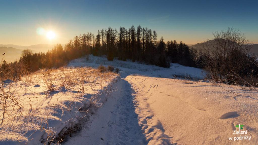 Słońce już coraz wyżej i wkrótce spektakl dobiegnie końca.