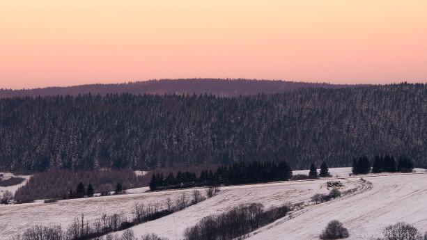Beskidzkie krajobrazy o świcie
