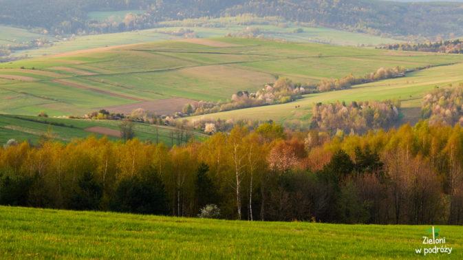 Beskid Niski w wiosennym wydaniu