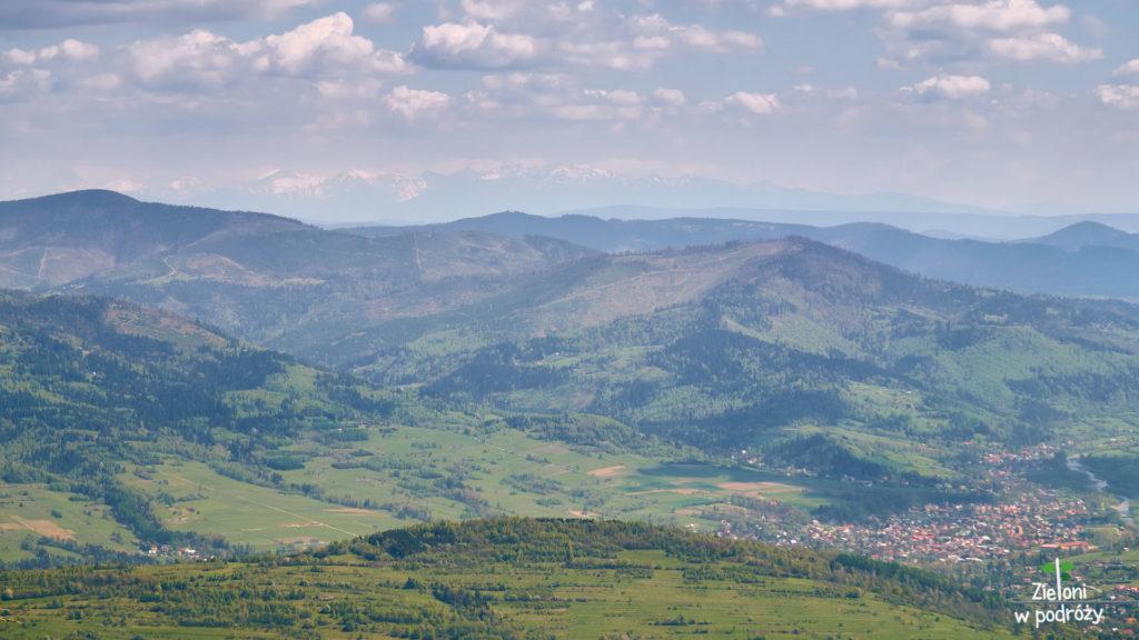 Tatry z okolic Baraniej Góry