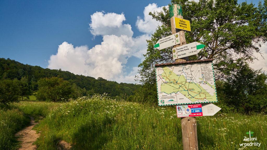 Ruszamy zielony szlakiem na Połoninę Caryńską