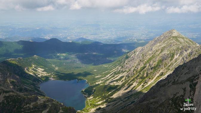 Dolina Gąsienicowa widziana z Koziego Wierchu