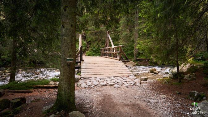 Kolejny mostek na trasie