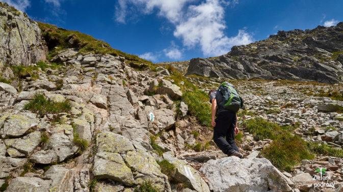 Idąc na Zadni Granat, tak naprawdę nigdy nie wiadomo ile zostało do szczytu