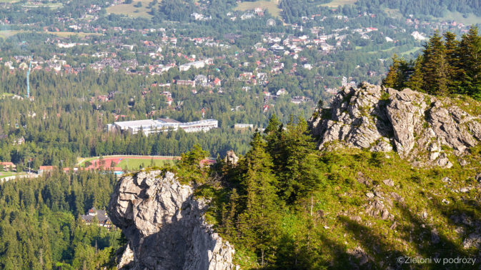 Widok w stronę Zakopanego