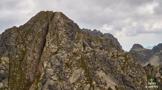 Zejście z Pośredniego Granata