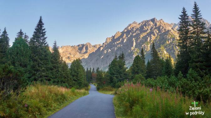 Ciągle niebieskim szlakiem na Koprowy Wierch