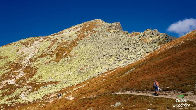 Dalszy przebieg szlaku na Koprowy Wierch