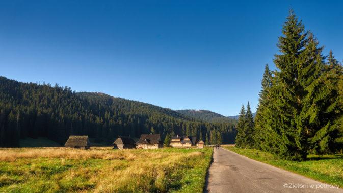 Dolina Chochołowska wita nas standardowym, przyjemnym dla oka widokiem