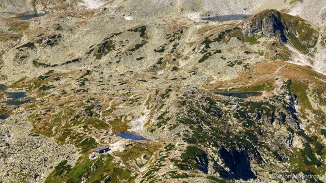 Dolina Staroleśna widziana ze szczytu
