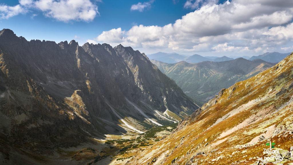 Imponująca Grań Hrubego i Dolina Hlińska