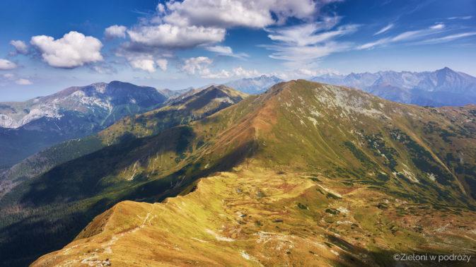 Panorama z okolic szczytu. Jest co podziwiać