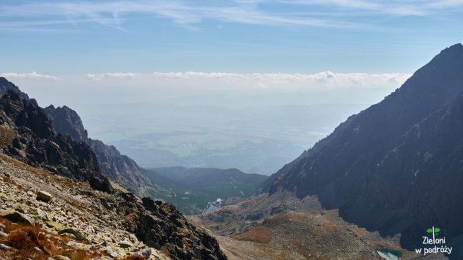 Rzut oka w stronę Doliny Wielickiej