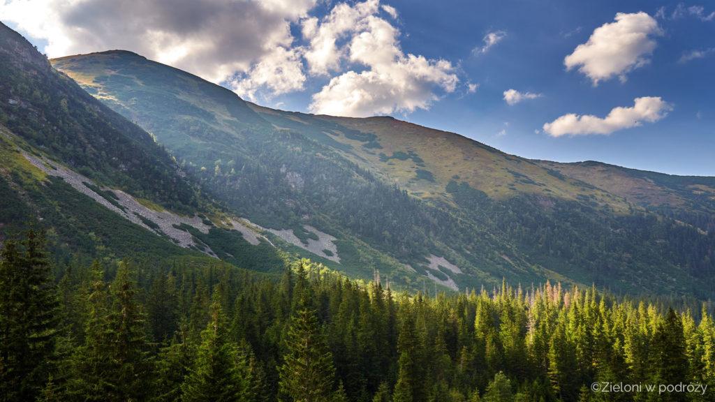Tatry Zachodnie żegnają się z nami naprawdę ładnymi widokami