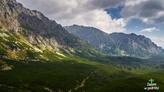 Wizytę w Tatrach kończymy naprawdę ładnymi widokami