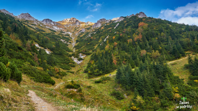 Jesień powoli zakrada się w Tatry