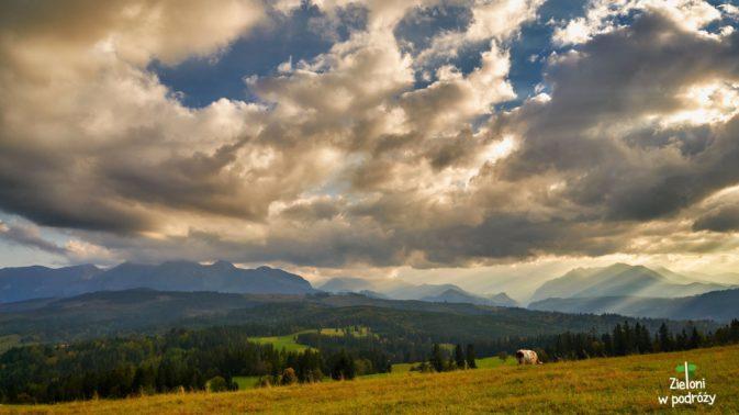 Tatry pogrążają się w chmurach, a my żegnamy jesienne Tatry Bielskie