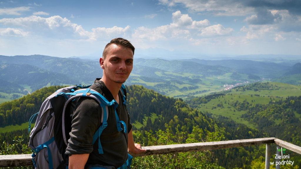 Na szczycie Wysokiej podczas majowej wycieczki