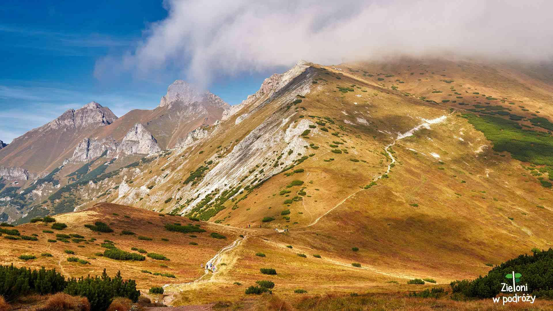Tatry Bielskie jesienią – z głową w chmurach