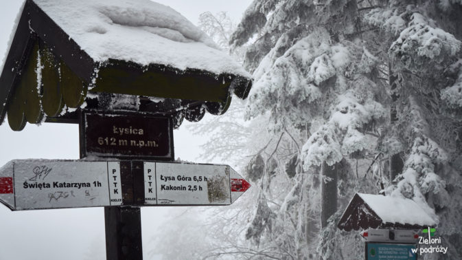 Dowód zimowego wejścia na Łysicę. Będzie do górskiego portfolio