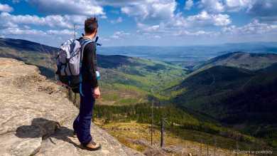 Malinowska Skała i rozległe panoramy
