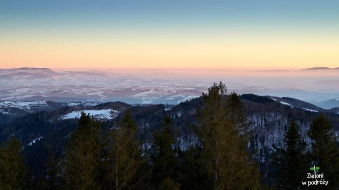 Uwielbiam ten moment, gdy w górach wstaje nowy dzień