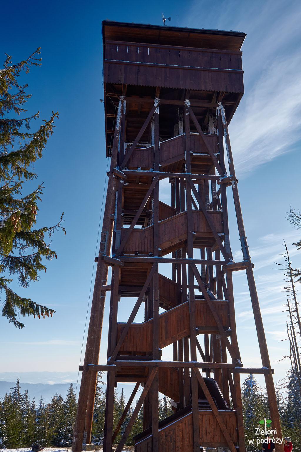 Wieża na Gorcu. Kawał budowli