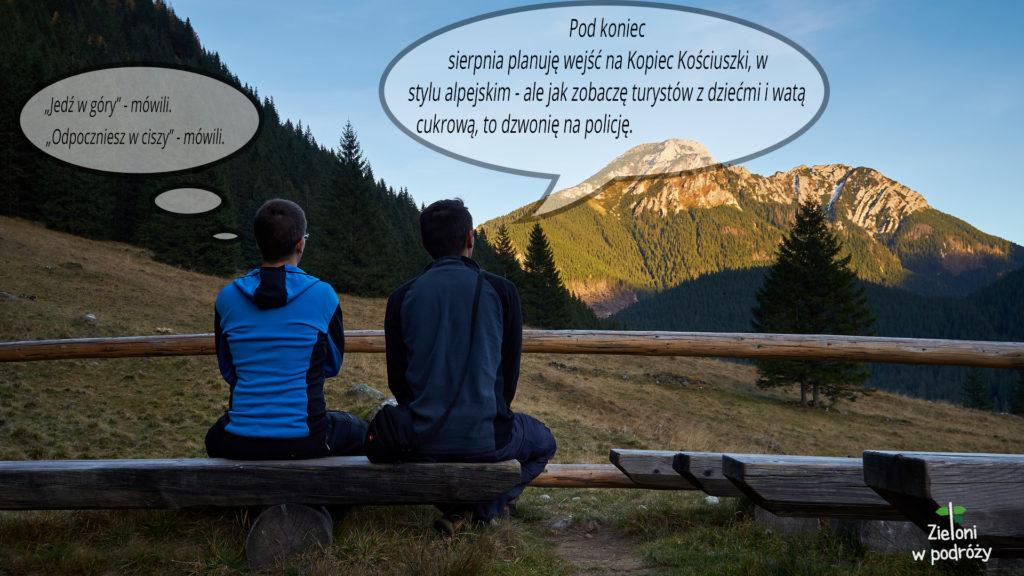 Kopiec Kościuszki w stylu alpejskim