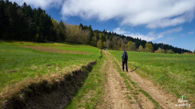 Wiosenna pogoda zachęciła nas do wyjścia na Jaworze w Beskidzie Niskim
