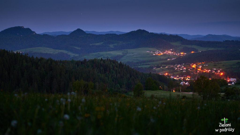 Wiosną w górach jest naprawdę klimatycznie, a po zmroku jeszcze ciakwiej