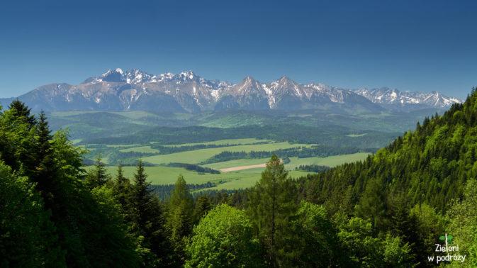 Zbliżenie na Tatry