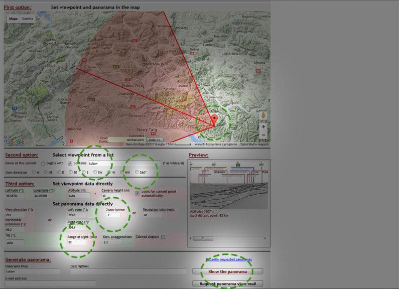 Jak wyrysować panoramę