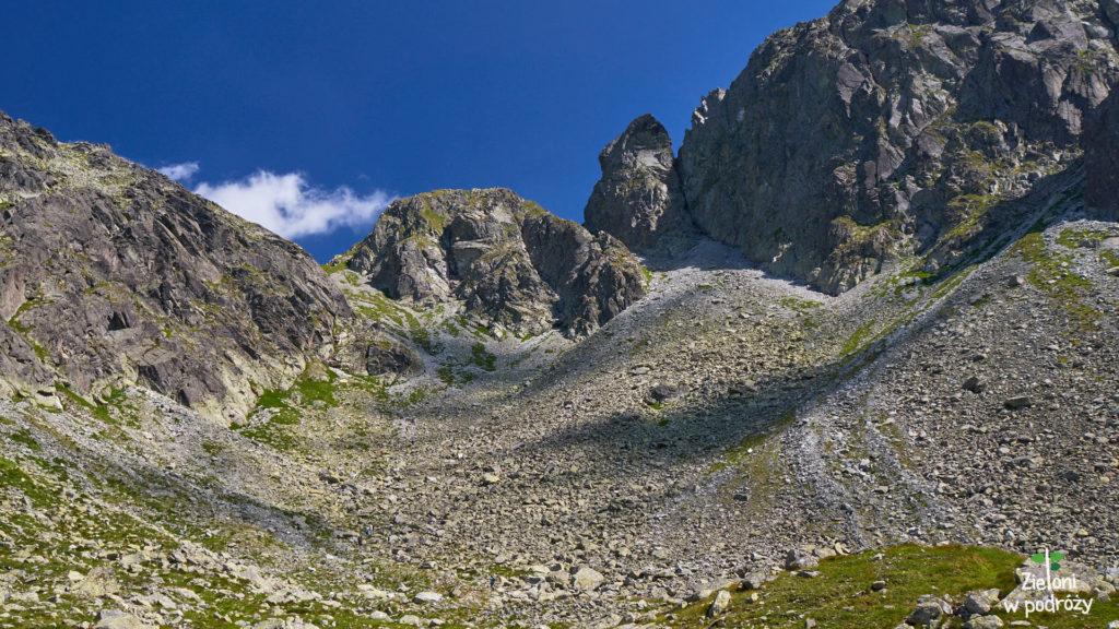 Przełęcz Krzyżne od strony Doliny Pańszczycy