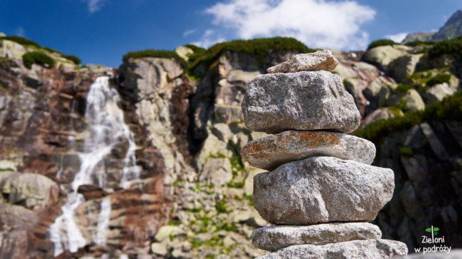 Wodospad Skok, nad który musimy wejść