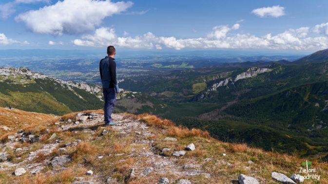 Kopa Kondracka i widok w stronę Doliny Kondratowej