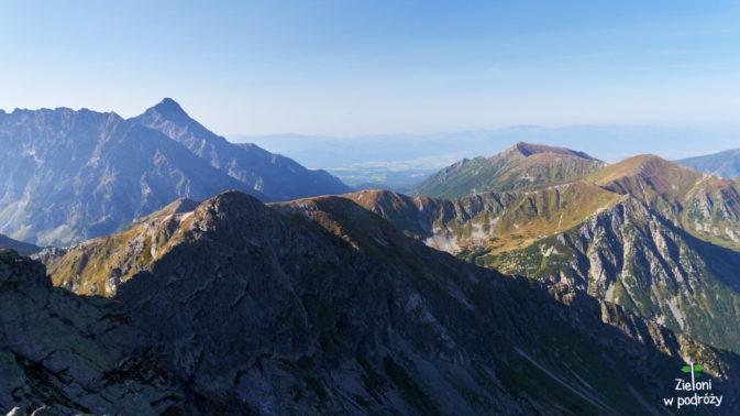 Niżne Tatry na horyzoncie